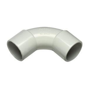 ELBOW CONDUIT PVC SOLID 25MM GREY