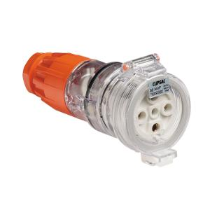 SOCKET EXTENSION IP66 5 PIN 32A 500V ORG