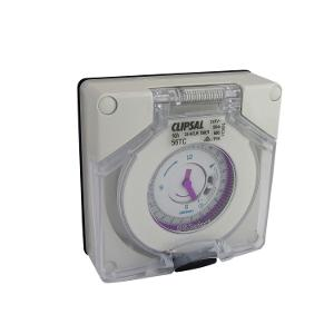 TIMER SWITCH IP66 24HR 16A L/ENC GREY