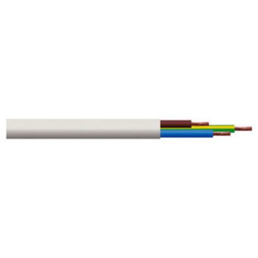 Cable Flex 2 5mm 3 Core Od White Flexible Cable Cable