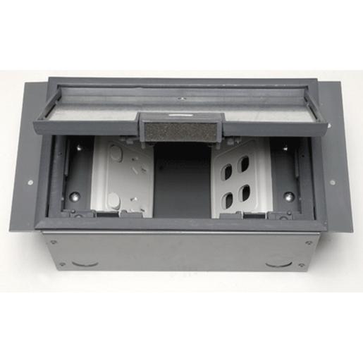 Flush Floor Box Rectangular 250x160x100 Cable Duct