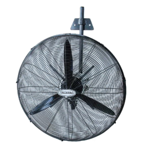 PEDESTAL FAN INDUSTRIAL 500MM BLACK | Pedestal Fan | Heating