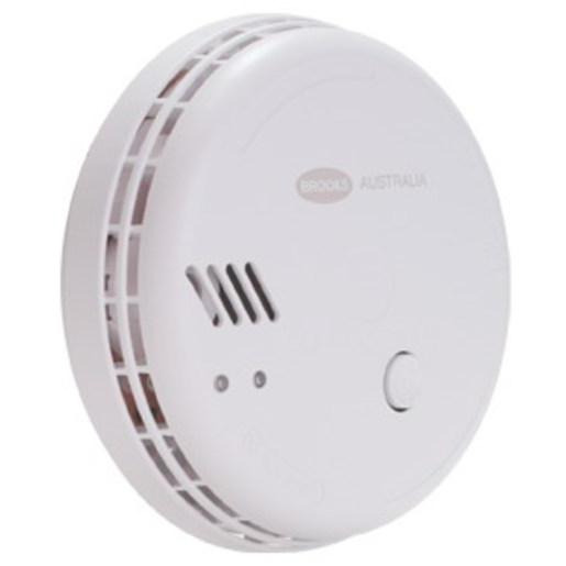 SMOKE ALARM OPTICAL 12VDC/9VBATTERY | Smoke Detectors