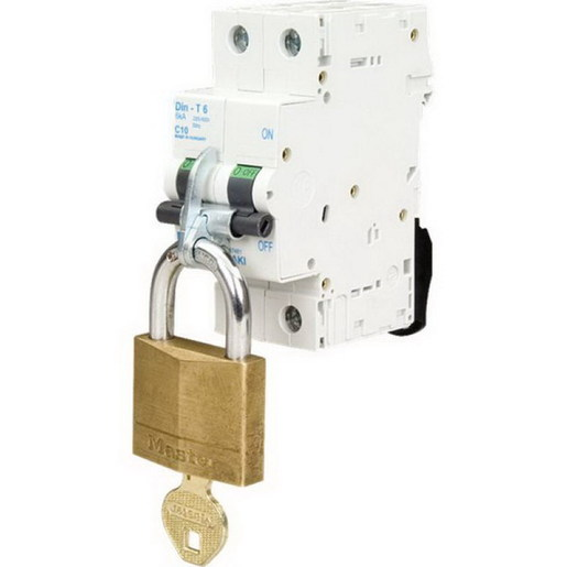 Lock Out Dog Din T Captive 1 4 Pole Lock Out Tag