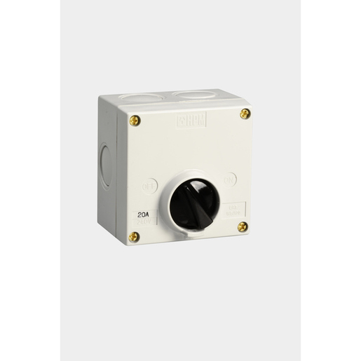 Isolator Ip56 Surf 20a 1 Gang 1
