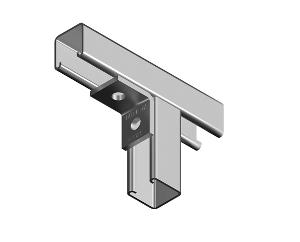 BRACKET 90D ANGLE FITTING 2 HOLE HDG