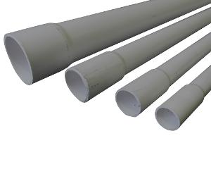 CONDUIT MD RIGID PVC 25MMX4MTR GREY