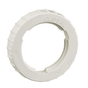 LOCK RING PVC 20MM GREY