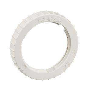 LOCK RING PVC 25MM GREY