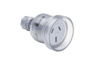 SOCKET EXTENSION 3P 15A 250V H/DTY TRANS