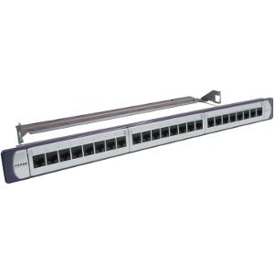 P/PANEL 24PORT CAT6 UTP W/JACKS