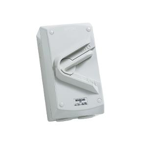 ISOLATOR IP66 3P 40A 500V WHB SERIES R/G