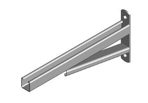 BRACKET CANTILEVER BRACED 635MM HDG