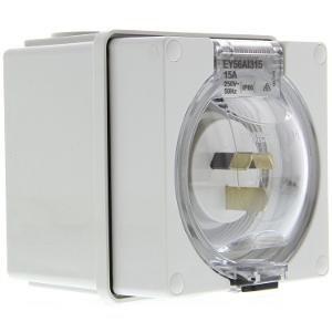 EASY56 APPLIANCE INLET 15A 250V