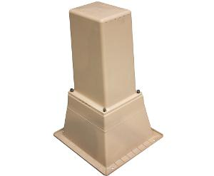PILLAR BOX TALL & BASE VENT BEIGE