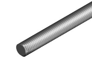 THREADED ROD 10MM X 3MTR ZINC