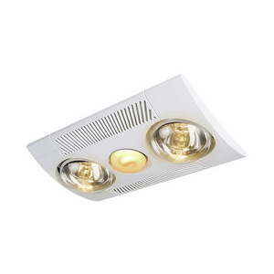 FAN LIGHT HEATER ENSUITE DRAFTSTOPPER