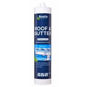 ROOF GUTTER SILICONE 300ML TRANS