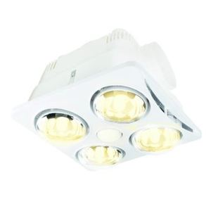 NEWTON 4 1 LIGHT 3 IN 1 BATHROOM MATE WH
