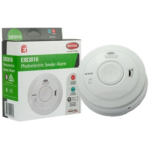 PHOTOELECTRIC SMOKE ALARM 230V WITH 10 Y