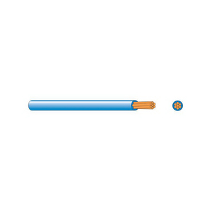 CABLE BUILDING WIRE 16MM BLUE 100MTR