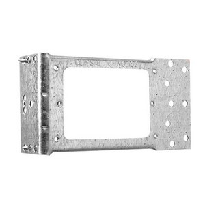 BRACKET 1G STD PTN HORIZONTAL W/NAILS