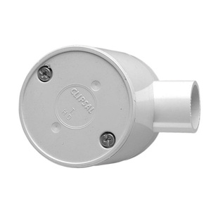 JUNCTION BOX ROUND DEEP 1WAY 25MM GRY