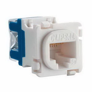 MECH SOCKET UTP CAT5E RJ45 WHITE