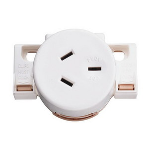 SURFACE SOCKET QUICK CONNECT 10A 250V