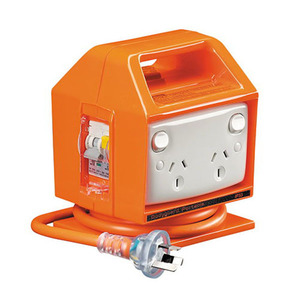 RCD PROT 30MA OUTLET PORTABLE 4G 10A OR