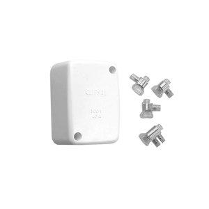 JUNCTION BOX SCRW LID & CONNS(1ETH&3ACT)