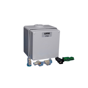 JUNCTION BOX PVC IP66 1G GREY