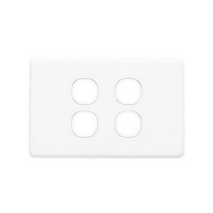 PLATE GRID & COVER 4G WHITE