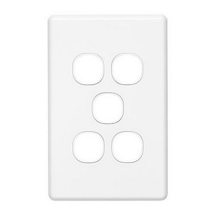 PLATE GRID & COVER 5G WHITE