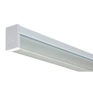 BATTEN DIFFUSED 1X18W C/W LAMP-ECG