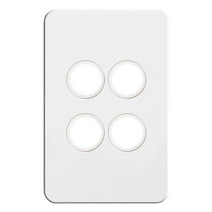 4G SWITCH PLATE COVER NO MECH