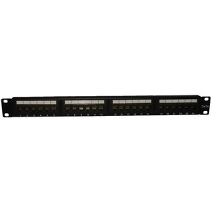 PATCH PANEL CAT6 24 PORT RACK MOUNT