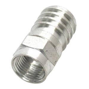 CONNECTOR F-TYPE HEX CRIMP RG6