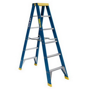 LADDER F/G DBL SIDED STEP 3.0MTRS 150KG