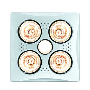 BATHROOM COMBO 4 LGT 3IN1 HEAT/FAN/LED