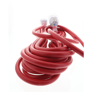 EXTENSION LEAD 10MTR 10A X/H/DUTY RED