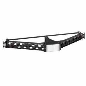 PATCH PANEL C6A 24PORT KEYSTONE LOADED
