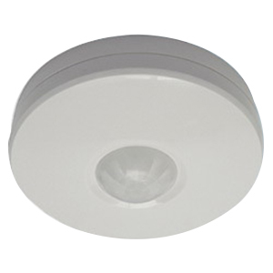 MOTION DETECTOR 360D PIR SURFACE WHITE