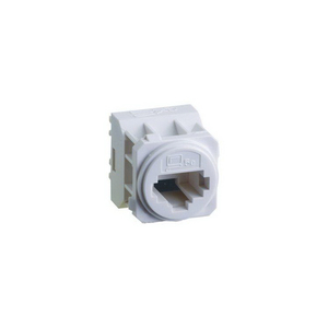 EXCEL E-MEC CAT-5E RJ45 DATA-SOCKET WHT