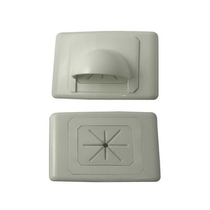 PLATE A-CLASS LARGE BULL NOSE OUTLET