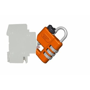LOCKOUT SAFETY PADLOCK 50X5MM SHACKLE