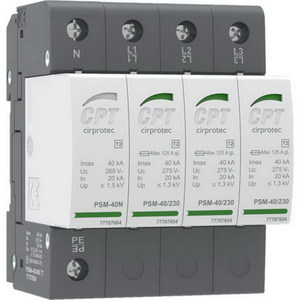 SURGE SPD 3PH 4P TYPE 2 40KA L+L+L+N-PE