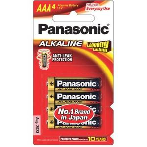 PANASONIC AAA ALKALINE BATTERY