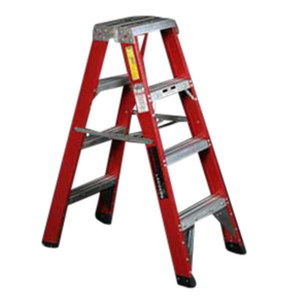 LADDER 2 SIDED HD FIBREGLASS 1 2M