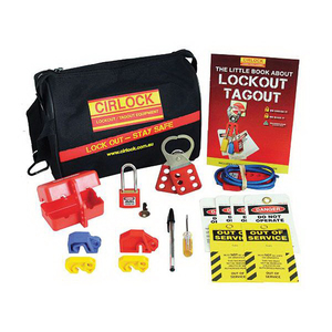CONTRACTORS LOCKOUT KIT W/BAG STANDARD S